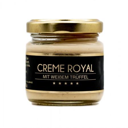 Creme Royal mit weißem Trüffel