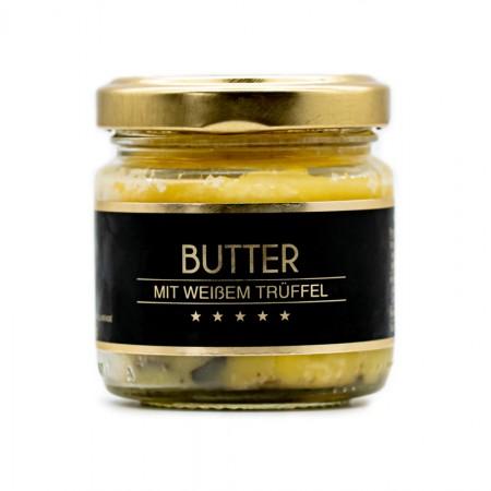 Butter mit weißem Trüffel