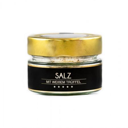 Salz mit weißem Trüffel
