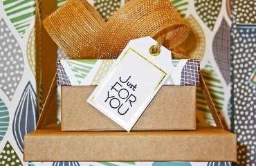 Geschenkboxen als Gadget